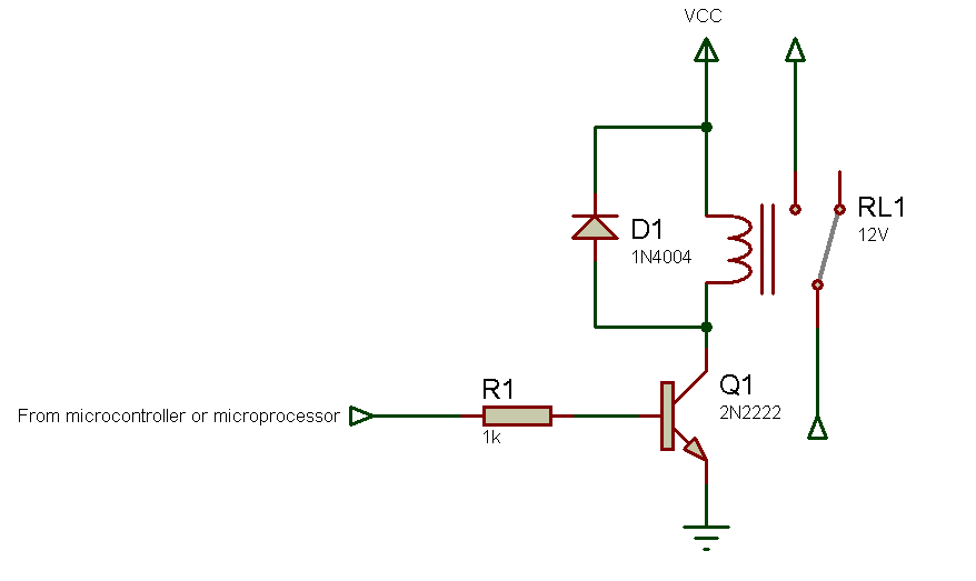 relay schematic