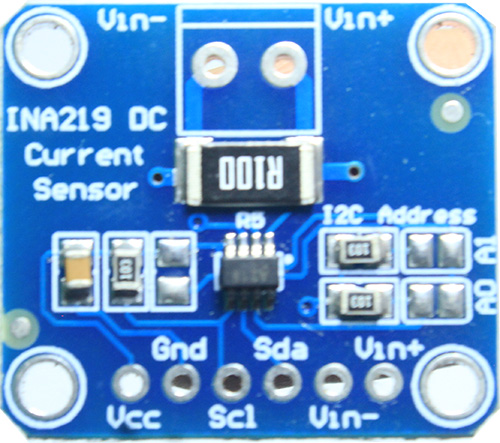 INA219 current sensor