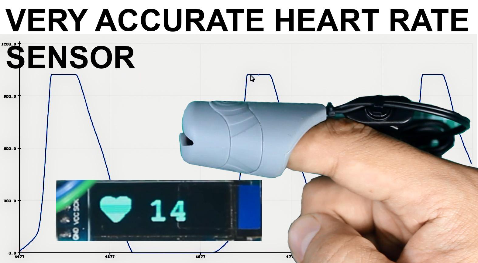 Easy Pulse Sensor with arduino