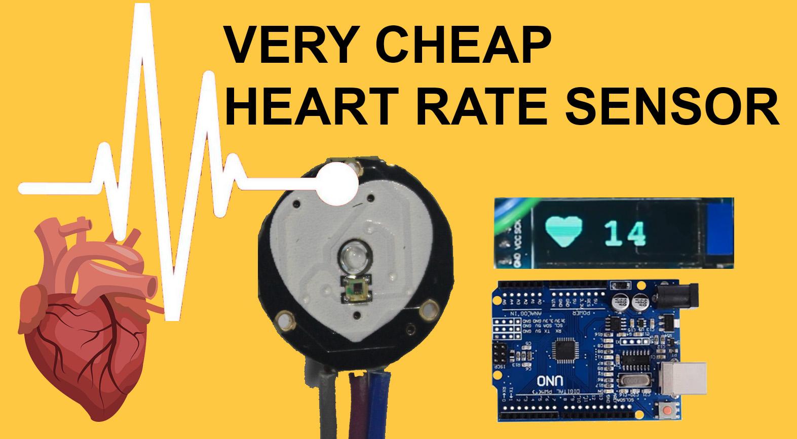Pulse Hear Rate Sensor with arduino