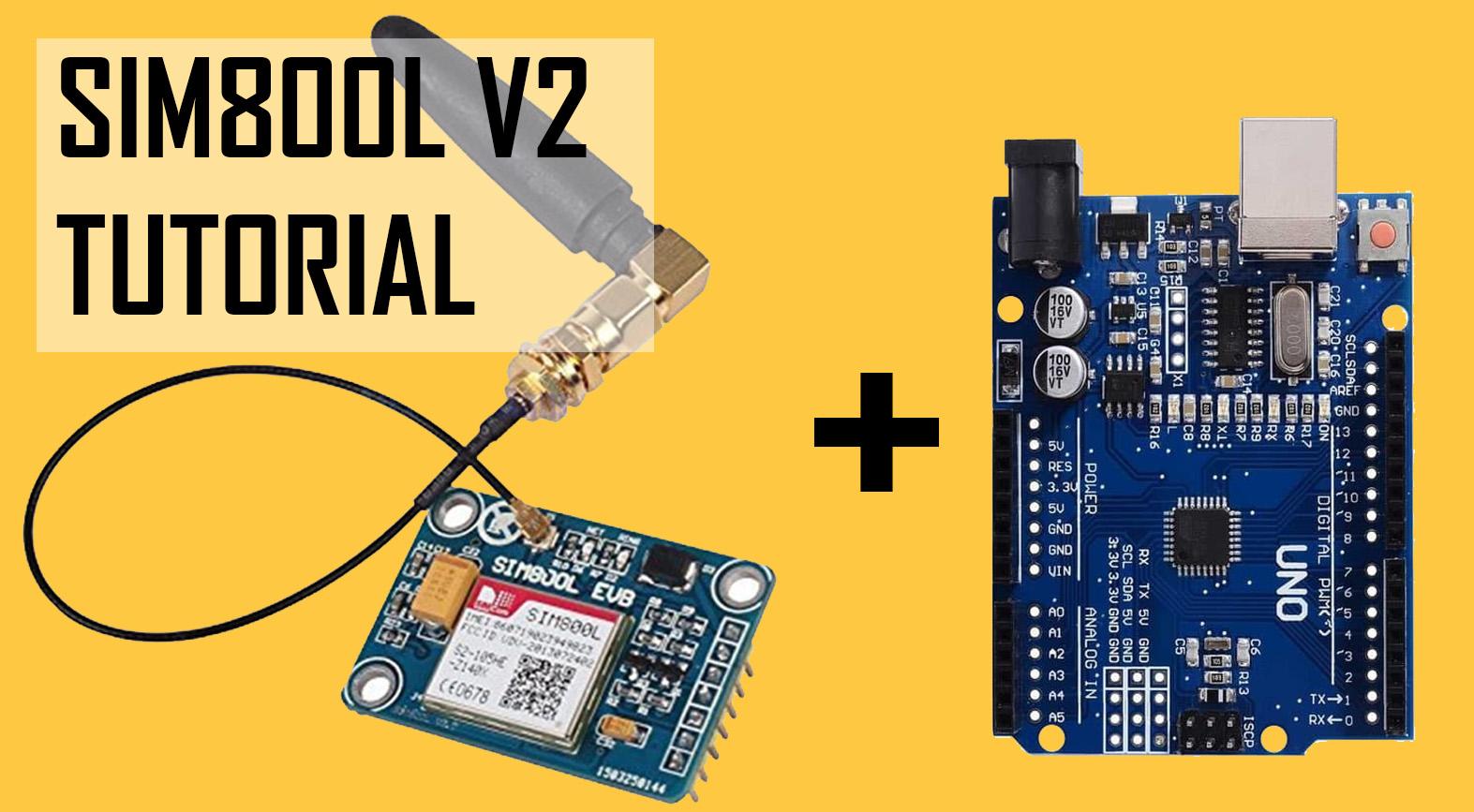 SIM800L V2 with arduino